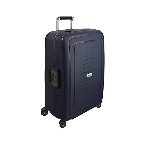 Samsonite S'Cure Dlx Spinner 69/25 Suitcases, 69 cm, 79 L, Blue (Blue)
