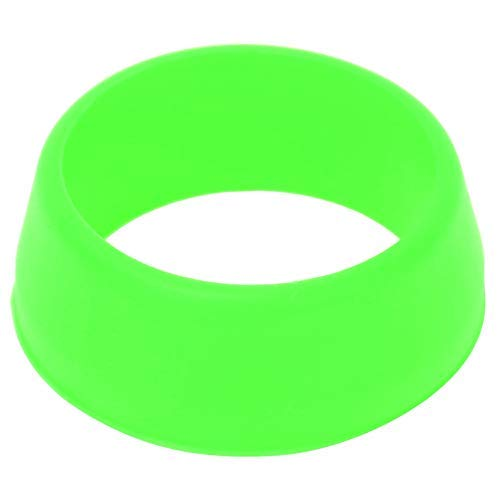 Keenso - Juego de juntas tóricas de goma de 25 a 30 mm, 10 piezas de juntas redondas para reemplazar sellos antiguos (verde)