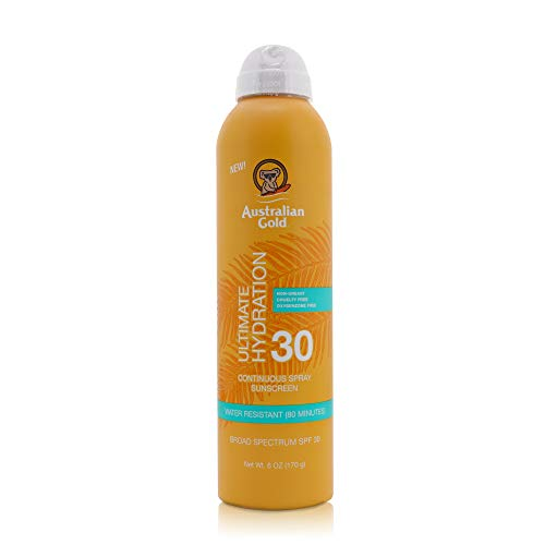 Australian Gold Continuous Spf#30 Spray 6 Ounce Ultimate Hydr (177ml) (2 Pack)