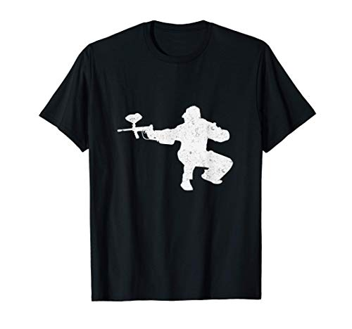 Zielen Ziel Schießen Paintball Spiel Paintballer Geschenk T-Shirt