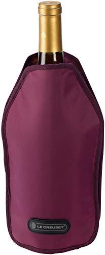 LE CREUSET WA126 Funda enfriadora para Botellas de Vino o Cava, Tejido Impermeable, Burdeos
