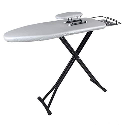 Ironing Boards Mesa de planchar vertical ligera y moderna, antiquemaduras, resistente al calor, 130 x 34 x 90 cm, 4 colores, gran ancho