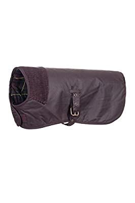 Rydale 100% Waxed Cotton Dog Coat Winter Warm Adjustable Pet Jackets - Made in the UK