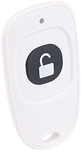 VisorTech Zubehör zu Fingerprint-Türschloss: Fernbedienung für elektronischen Tür-Schließzylinder TSZ-600.FP (Türschloss Sensor)