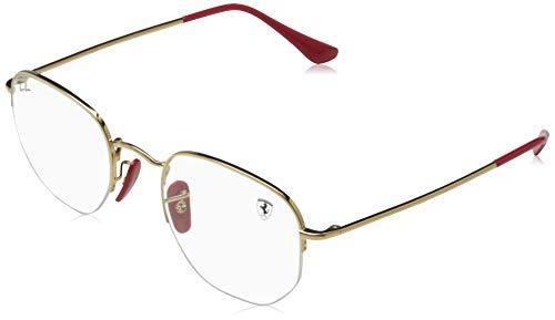 Ray-Ban 0RX6448M-F029-50 Gafas de lectura, Dorado, 50 Unisex Adulto