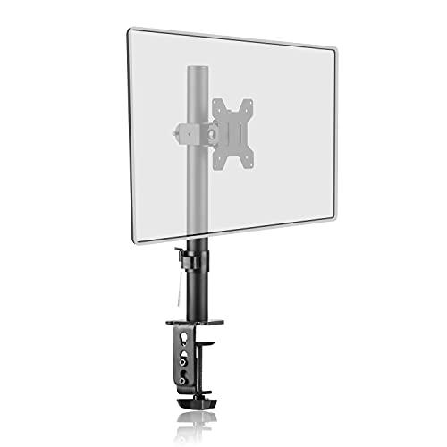 Brazo Monitor, Brazo para Monitor Individual Soporte de Monitor de PC para Pantallas de LCD LED de 13-32 pulgadas, Brazo para Monitores de Monitor Ajustable en Altura,VESA 75/100 mm hasta 10 kg MD7401
