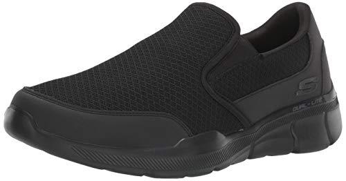 Skechers Men's Equalizer 3.0 Bluegate Loafer, Black, 11 4E US
