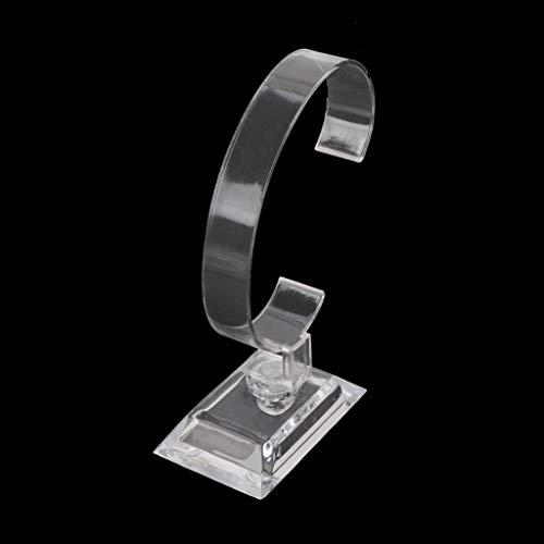luosh Gioielli Bracciale Orologio da Polso Supporto per espositore Supporto Trasparente per Braccialetti in Acrilico Vetrina per Negozio al Dettaglio