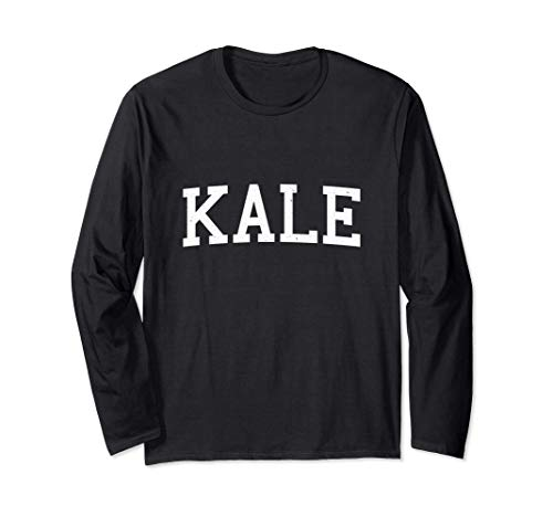 Vintage Kale Long Sleeve T-Shirt