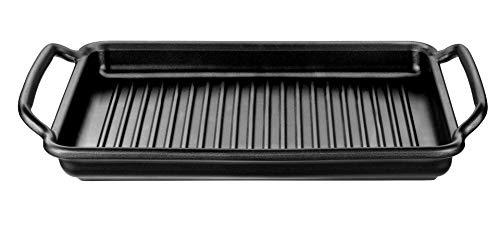 Bra Grillplatte gerillt Solid + Teflon Classic beschichtet 40 x 28 cm