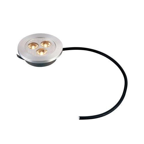 Alico Lighting WLE023C32K-0-98 - Lámpara para debajo del armario, acabado de aluminio cepillado sin sombras