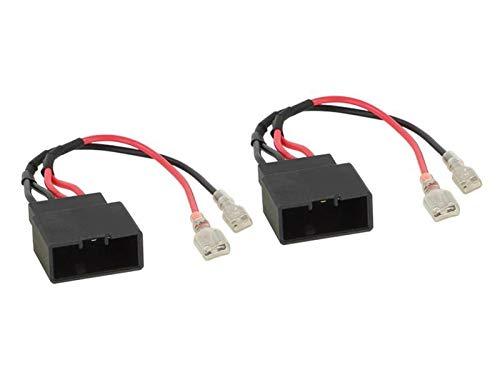 2 Cables adaptateurs haut-parleur AHP48 compatible avec BMW 1 3 5 X1 X3 X4 X5 X6