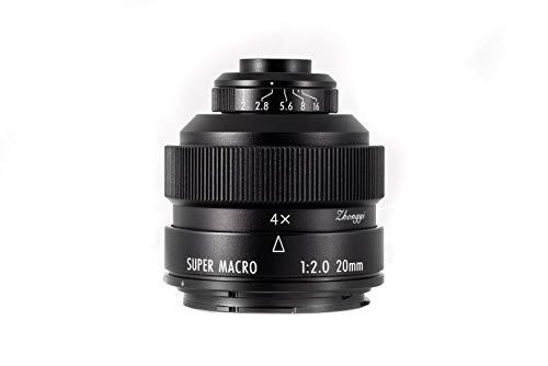 Zhongyi Mitakon Creator - Objetivo para cámaras Canon EF (20 mm, F/2)