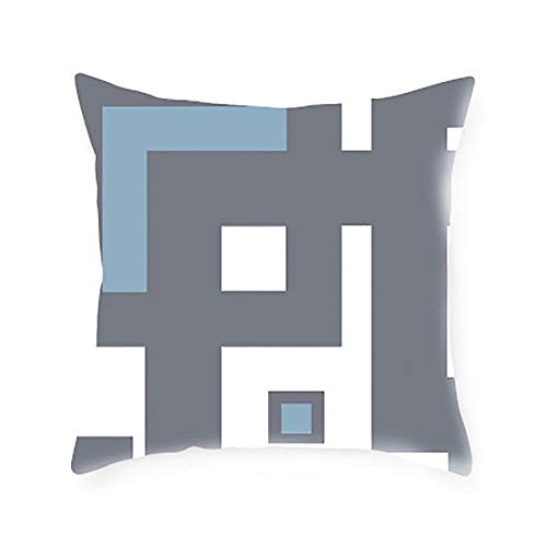 Yanshe 1pcs space design cushion cover decoration pillow cover geometric line cushion cover living room sofa bedroom car decoration 45x45cm