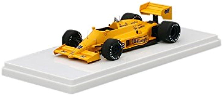 TrueScale Miniatures TSM164359 1 43 Scale Lotus 99T Number 12 1987 San Marino GP Aryton Senna Die Cast Model Car