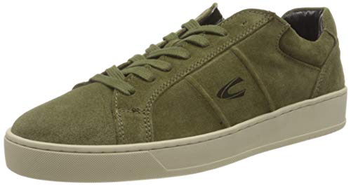camel active Herren Cloud Sneaker, Military Green, 44 EU
