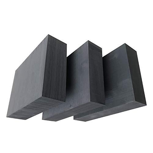 XMRISE 99,9% Graphitblöcke Platten Panelblätter Reinheit Elektrode Ingot 2