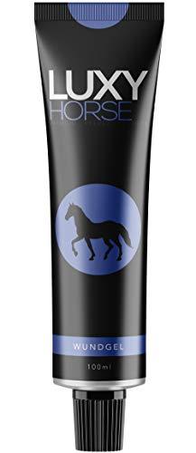 BELMEDA Wundgel für Pferde LUXYHORSE 100ml | Gel für die optimale Wundheilung beim Pferd | 100% natürlich