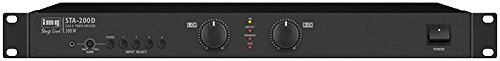 Best Price Square Amplifier, Digital, 1U, 2X125W RMS STA-200D by IMG Stage...