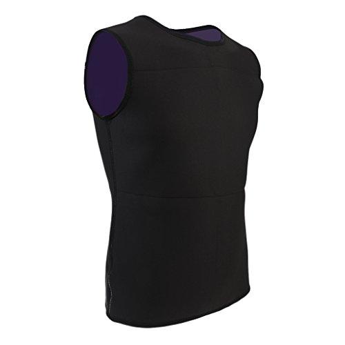 Gazechimp Chaleco de Neopreno UV Protección Wetsuit para Natación Buceo - M