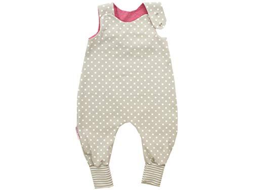 Body pour bébé avec petits rois - Beige à pois - Certifié Ökotex 100 - Tailles 50-92 - Beige - 86/92 cm