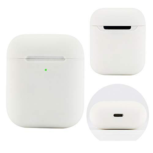Damonlight Airpods Headphone Case Silikonhülle Apple Wireless Headphone Case(Weiß)