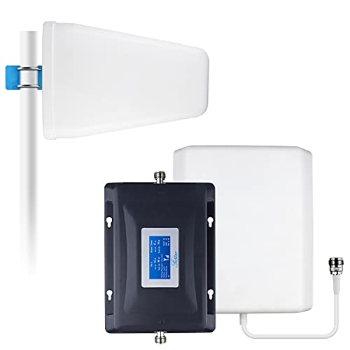 Cell Phone Signal Booster Verizon 4G LTE Network Extender Band13 Cell Phone Booster Verizon Signal Booster 5G 4G LTE Cell Booster Verizon Cell Signal Booster for Home 65dB LCD Data&Call Up to 5000sqft