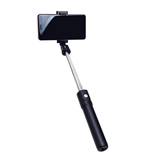Palo Selfie Bluetooth/ Trípode con Mando Compatible con Samsung Galaxy S10 S10 Plus S10e S10 Lite S9 S9 Plus S8 S8 Plus S7 S7 Edge S6, J8 J7 J6 Plus J6 J5 J4 S5 S4 S3, J3 J2 J4 Monópode Telescópico