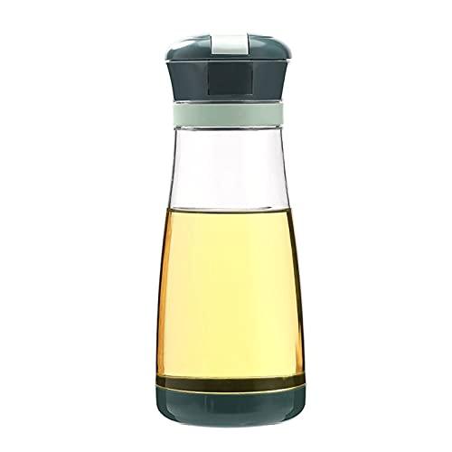 zhangsan Aceitera Aceitera Automática abierta sin goteo Botella de cristal Cocina Aceites Aceitera Aceitera Botella de Aceites Botella de Cocina Aceitera Medidor Botella 700