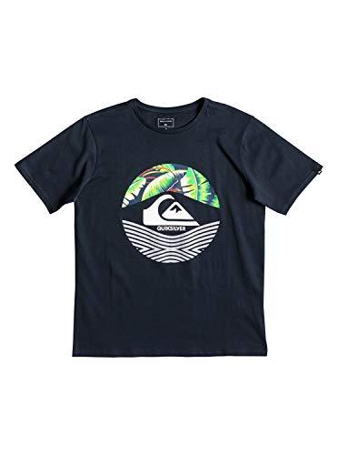 QUIKSILVER Stomped On Camiseta, Niños, Azul (Blue Nights), S