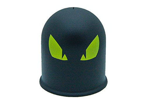 Schutzkappe Anhängerkupplung Dämon Teufel Evil Eye Cap 1 / Böser Blick 1 gelb