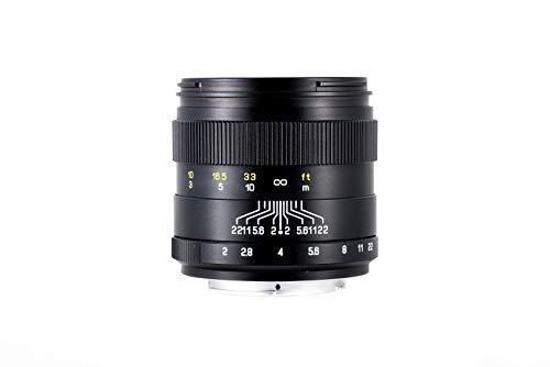 Zhongyi Mitakon Creator 85mm f/2 für Fuji X, lichstarkes Objektiv für Porträtfotografie, Foodfotografie, Streetfotografie mit traumhaften Bokeh
