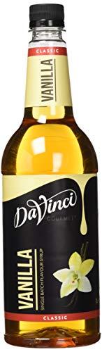 DaVinci Gourmet Classic Vanilla Syrup Pet, 1er Pack (1 x 1 l)
