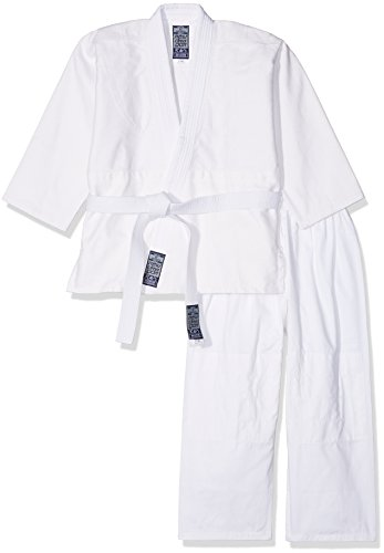 GIMER Judo-gi Completo Artes Marciales, Color Blanco, 150