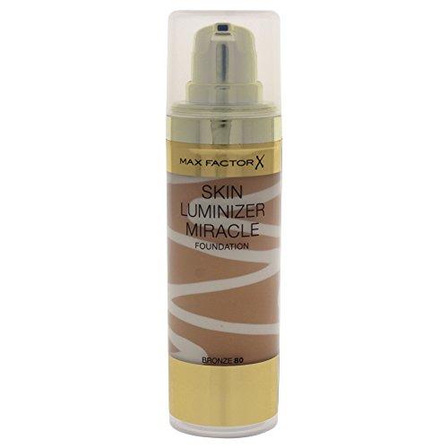 Max factor Skin Luminizer, base de maquillaje, color 80 bronce (30 ml)
