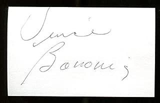 Vince Baronis Signed Index Card 3x5 Autographed College HOF Detroit 21741