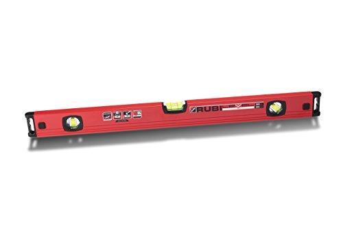 RUBI 76922 Nivel, Rojo, 60 cm