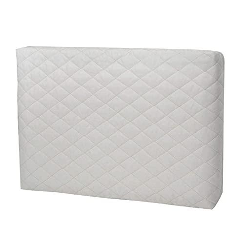 Cubiertas de aire acondicionado para interiores, funda decorativa para aire acondicionado, doble aislamiento con correa elástica, unidad de acondicionamiento interior universal, cubiertas de CA multif
