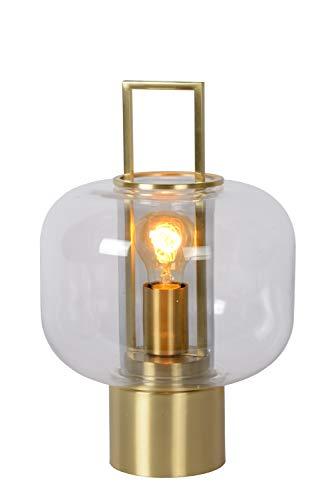 Lucide Sofia – Lámpara de mesa – Ø 24 cm – 1 x E27-3 StepDim – Oro mate / latón