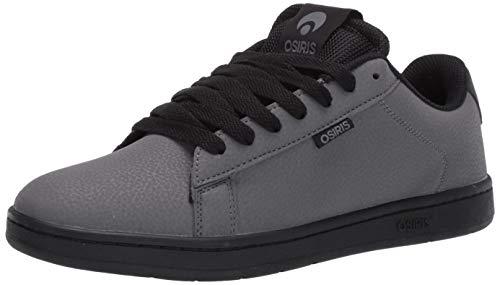 Osiris Herren Icon Skate Schuh, Mehrere (Charcoal/schwarz), 40 EU