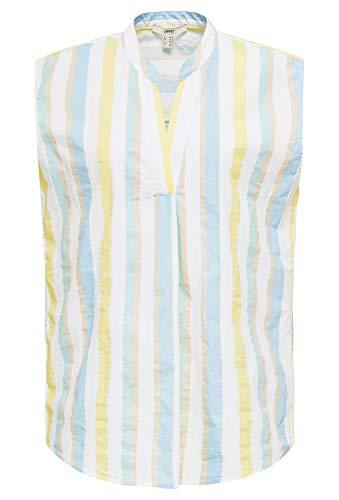 ESPRIT Damen 040EE1F313 Bluse, 103/WHITE 4, 44