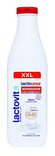 Lactovit - Gel De Ducha Reparador Lactourea, Para Pieles Secas Y Extra Secas - 900ml, Gel Reparador 900 Ml