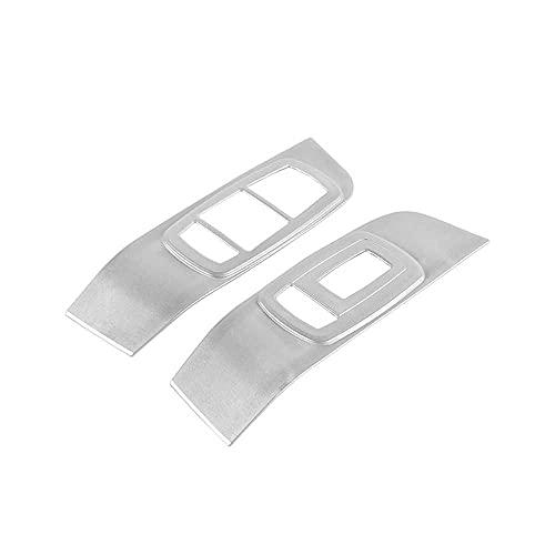 SAXTZDS Cubierta de Ajuste del Interruptor de elevación de Vidrio del Panel de Control de la Ventana del Coche, Apto para Dodge Challenger 2015+