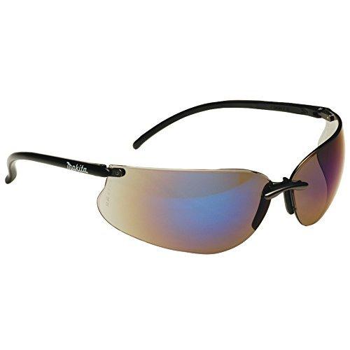 Makita P-66307 Makita P-66307 Designer zonnebrillen/beschermende glazen blauw met lenzen, case en cleaning Cloth 1 Black by Makita