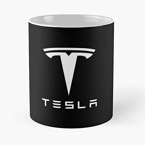 Younini Tesla Motors Compan Best Cup - Tazas de café de cerámica