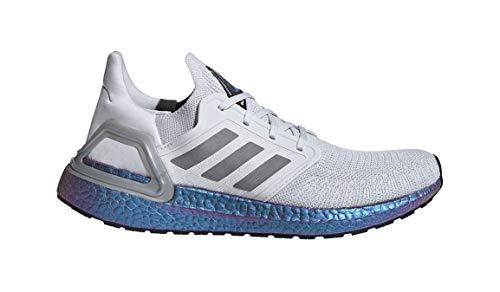 adidas Men's Ultraboost 20 Running Shoe, Grey/Grey/Boost Blue Violet Metallic, 10.5 M US