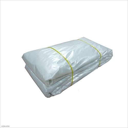 Voiles d'ombrage Anti-vieillissement Transparent Tissu Ombre Tissu (Couleur : Blanc, taille : 6 * 6m)
