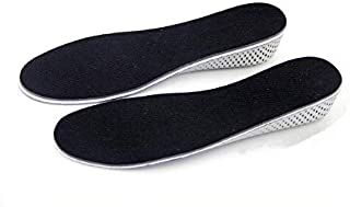 Men Women Increase Height High Full Insoles Memory Foam Shoe Inserts Cushion Pads, 2.3cm