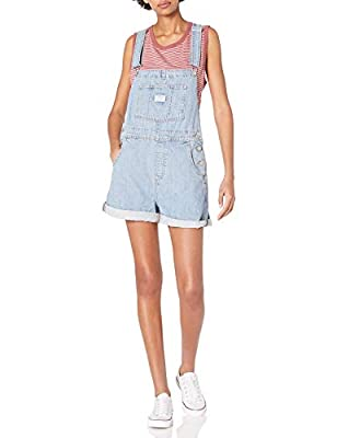 Levi's Women's Vintage Shortalls, Short Fused, Large