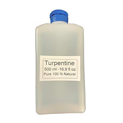 Trementina 500 ml 100% natural de aguarrenada de pino trementina